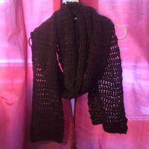 Accessories - Hand made knitted scarf